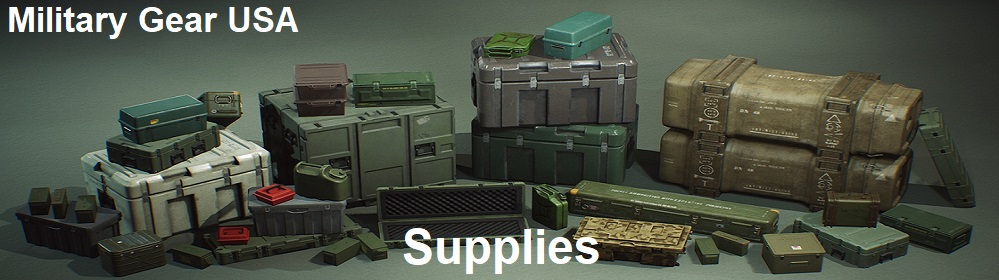 military supplies banner military gear USA
