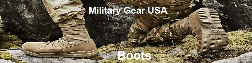 boots banner military gear USA